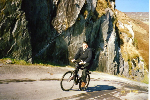 Bicylcing to Slea Head