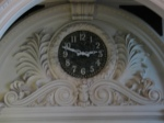 Clock in Acela waiting room