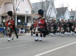 More pipers and drummers.