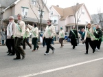 Sisters of St. Joseph march in Aran sweaters.