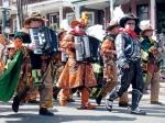 These mummers/mariachi band were pretty impressive.