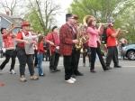A Dixieland jazz band.