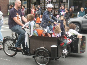 Racing bakfiets.