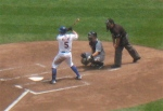 David Wright at bat.