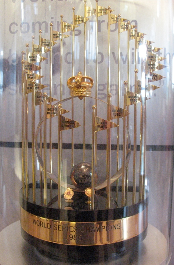 1986 World Series trophy (sorry Red Sox fans)