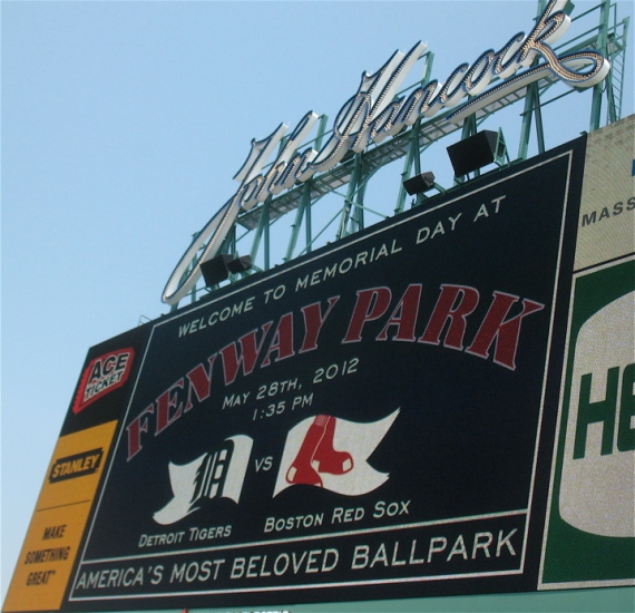 Welcome to Fenway Park.