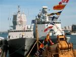 Norway's HNOMS Thor Heyerdahl and Denmark's  HDMS Esbern Snare.