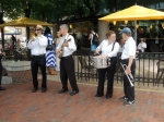 Street band.