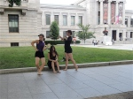 Dancers at the MFA.