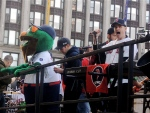 Wally the Green Monster and the Dropkick Murphys.