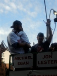 Jon Lester and son