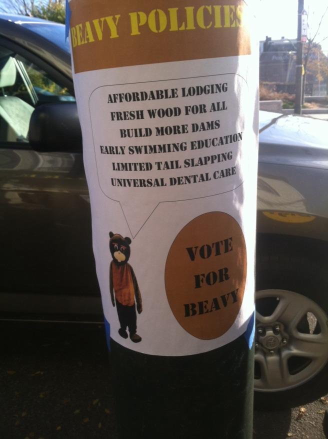 Vote for Beavy