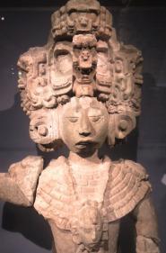 Maya scultpure.