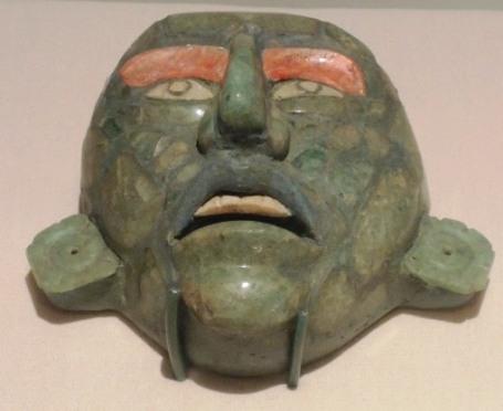 Maya mask.