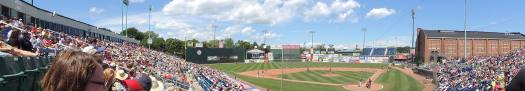 Panorama of Hadlock Field.