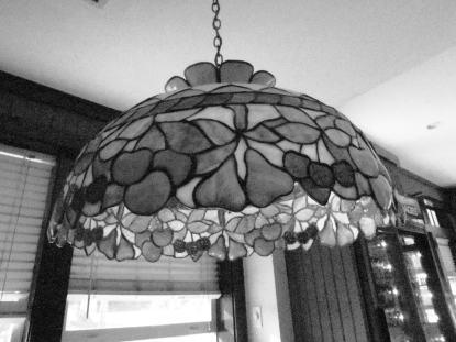 Stylish lamp.