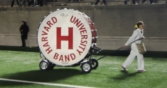 The bass drum is running for president.