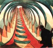 Cyril E. Power, The Escalator, about 1929