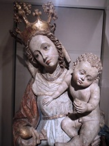 Virgin and Child on the Crescent Moon, Austria, about 1440-50