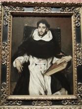 Fray Hortensio Felix Paravicino, El Greco, 1609