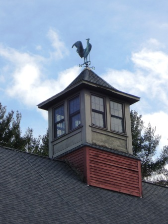 The barn cupola.