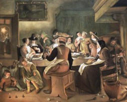 "Join the feast! Jan Steen, ""Twelfth Night Feast,"" 1662"
