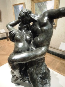 "Is the male figure taking a selfie? Auguste Rodin, ""Eternal Springtime,"" 1881"