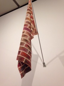 A brick flag. Untitled, by Reena Spaulings (2005)