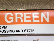 I always love that the word is GREEN while the color is ORANGE.