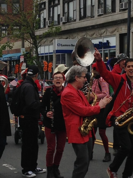 Brass band.