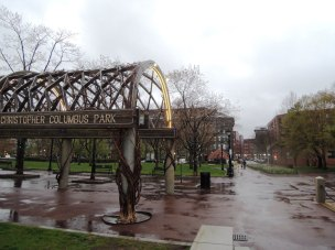 Built in 1976, Christopher Columbus Park created a reflective space between the North End and the waterfront.