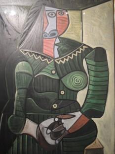 """""""Woman in Green (Dora)"""", 1944 - Pablo Picasso"""