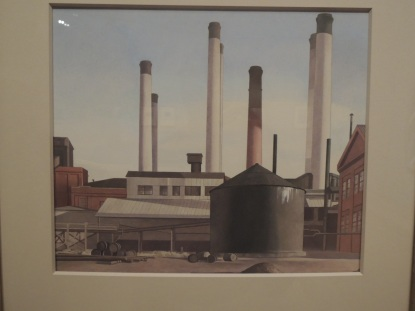 """Fugue,"" 1940 - Charles Sheeler"