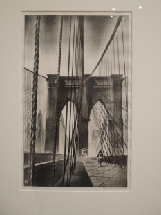 """Brooklyn Bridge,"" 1930 - Louis Lozowick"