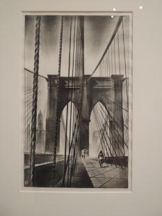 """""""Brooklyn Bridge,"""" 1930 - Louis Lozowick"""
