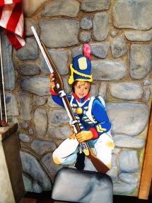 War of 1812 soldier