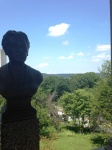 Harriet Beecher Stowe and the view
