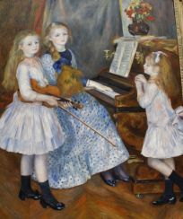 Auguste Renoir, The Daughters of Catulle Mendes, 1888