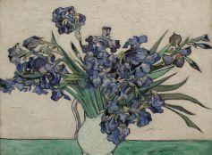 Vincent Van Gogh, Irises, 1890