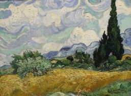 Vincent Van Gogh, Wheat Field with Cypresses, 1889