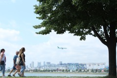 Aer Lingus landing