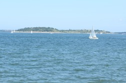 Sailboat and Spectacle Island