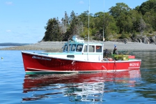 Another lobster boat.