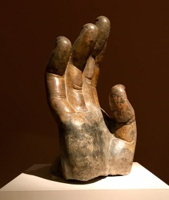 Right Hand of Buddha, Northern Qi dynasty (550-77_