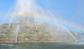 Rainbow over Buckingham.